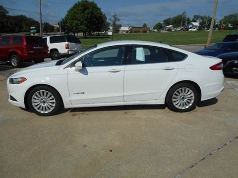 2015 Ford Fusion Hybrid for sale in Olathe, KS
