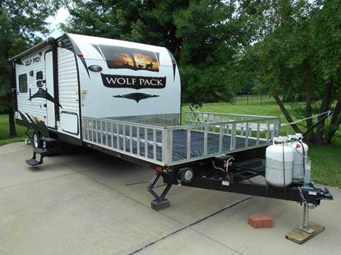 2013 Forest River WOLF PACK TOY HAULER