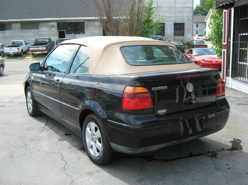2001 Volkswagen Cabrio GLX 2dr Convertible - Topeka KS