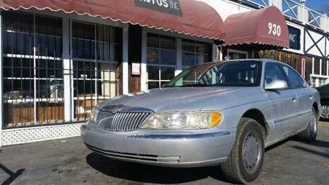 1998 Lincoln Continental for sale in Topeka, KS