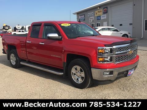 2014 Chevrolet Silverado 1500 for sale in Downs, KS