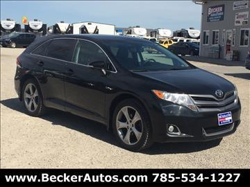 2013 Toyota Venza for sale in Downs, KS