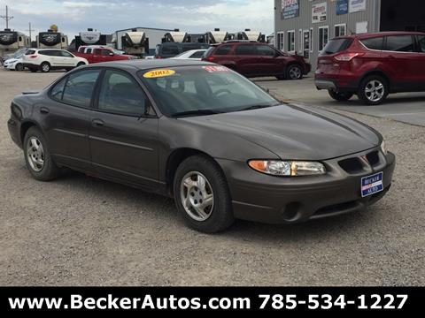 2002 Pontiac Grand Prix for sale in Downs, KS
