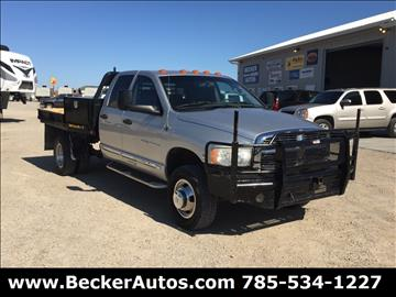 2005 Dodge Ram Pickup 3500 for sale in Downs, KS