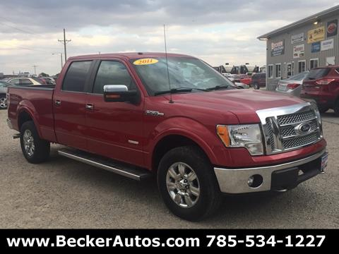 2011 Ford F-150 for sale in Downs, KS