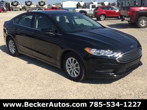 2017 Ford Fusion for sale in Downs, KS