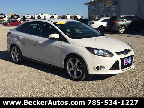 2013 Ford Focus for sale in Downs, KS