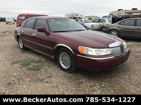 1998 Lincoln Town Car for sale in Downs, KS