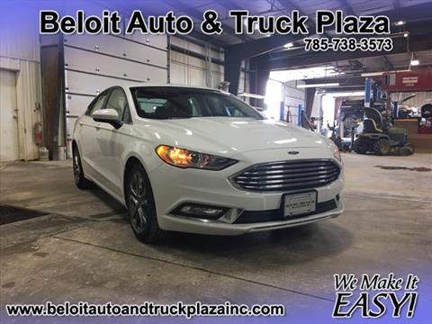 2017 Ford Fusion for sale in Beloit, KS