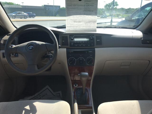 2006 Toyota Corolla LE 4dr Sedan w/Automatic - Kansas City KS