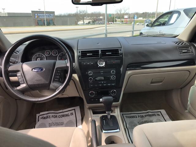 2008 Ford Fusion V6 SEL 4dr Sedan - Kansas City KS