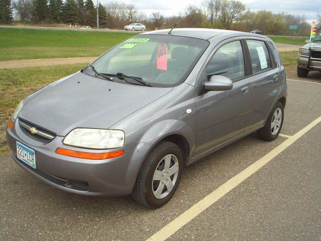 2006 chevrolet aveo ls 4dr hatchback in hutchinson mn. Black Bedroom Furniture Sets. Home Design Ideas