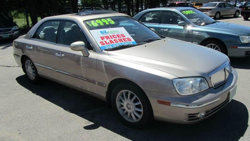 2005 hyundai xg350 l 4dr sedan in wichita ks e z loan auto sales. Black Bedroom Furniture Sets. Home Design Ideas