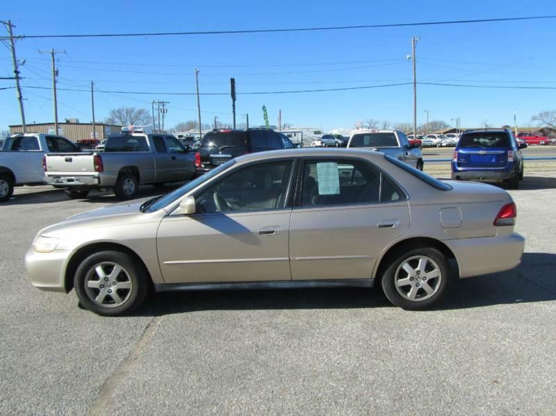 Buy Here Pay Here Wichita Ks >> 2002 Honda Accord LX 4dr Sedan w/ABS In Valley Center KS ...
