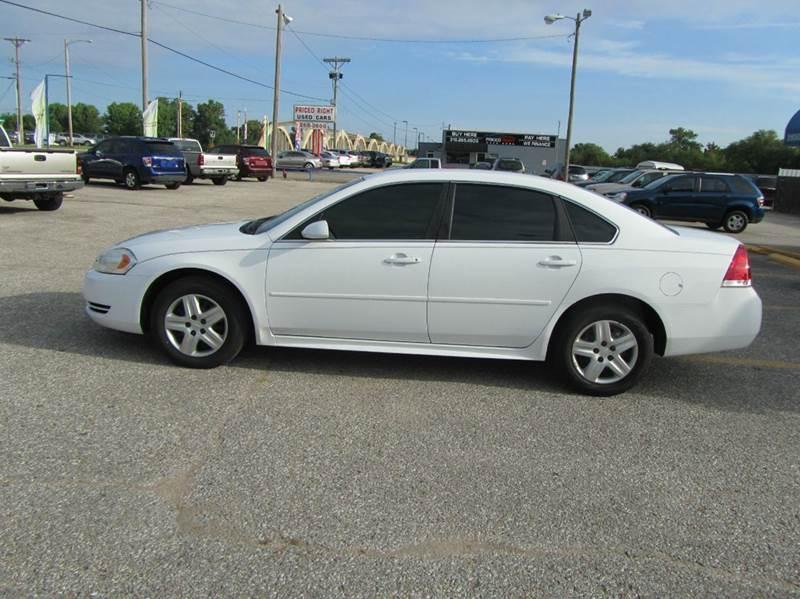 Buy Here Pay Here Wichita Ks >> 2011 Chevrolet Impala LS Fleet 4dr Sedan w/1FL In Wichita ...