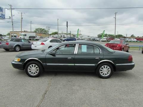 2002 Lincoln Continental for sale in Wichita, KS