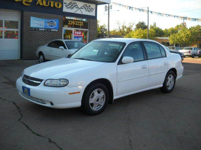 2001 chevrolet malibu ls 4dr sedan in sioux falls sd. Black Bedroom Furniture Sets. Home Design Ideas