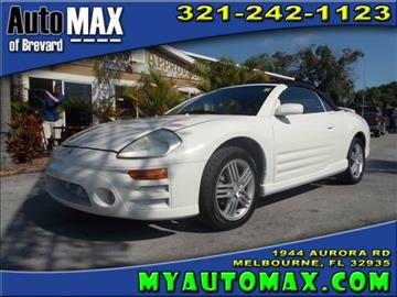 2004 Mitsubishi Eclipse Spyder for sale in Melbourne, FL