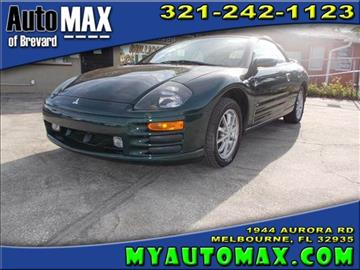 2002 Mitsubishi Eclipse Spyder for sale in Melbourne, FL