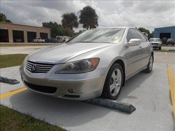 2005 Acura RL for sale in Melbourne, FL