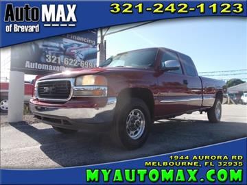 2000 GMC Sierra 2500 for sale in Melbourne, FL