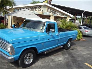 1967 Ford F150 For Sale  Carsforsalecom
