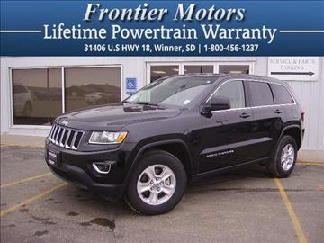 2015 Jeep Grand Cherokee for sale in Winner, SD