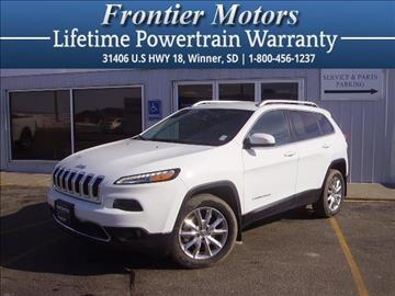 2014 Jeep Cherokee for sale in Winner, SD