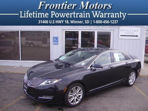 2015 Lincoln MKZ for sale in Winner, SD