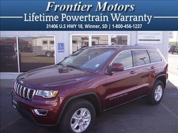 2017 Jeep Grand Cherokee for sale in Winner, SD