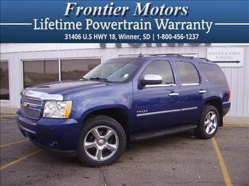 2012 Chevrolet Tahoe for sale in Winner, SD