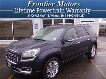 2017 GMC Acadia Limited for sale in Winner, SD