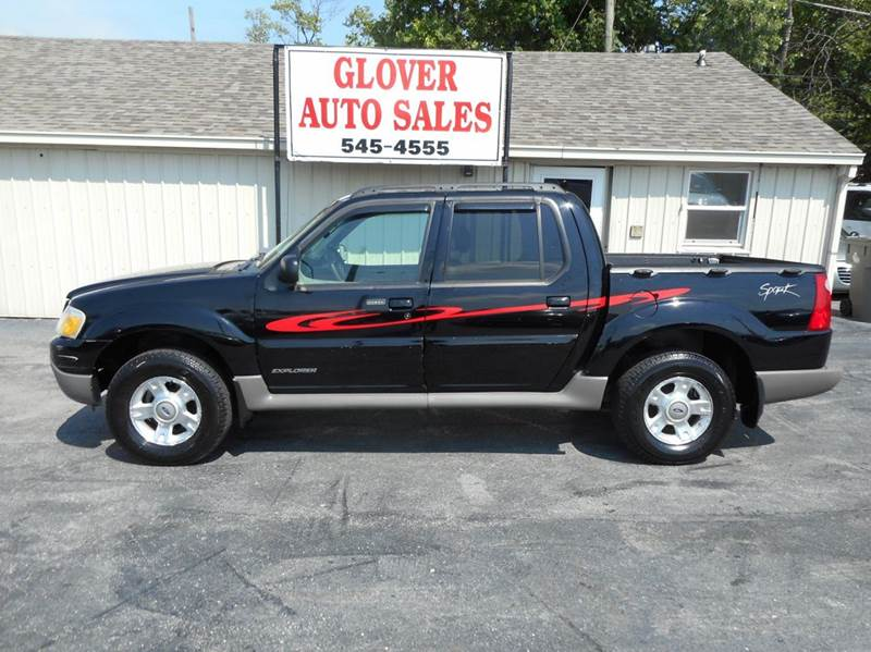 2001 ford explorer sport trac 4dr 4wd crew cab sb in indianapolis in glover auto sales. Black Bedroom Furniture Sets. Home Design Ideas