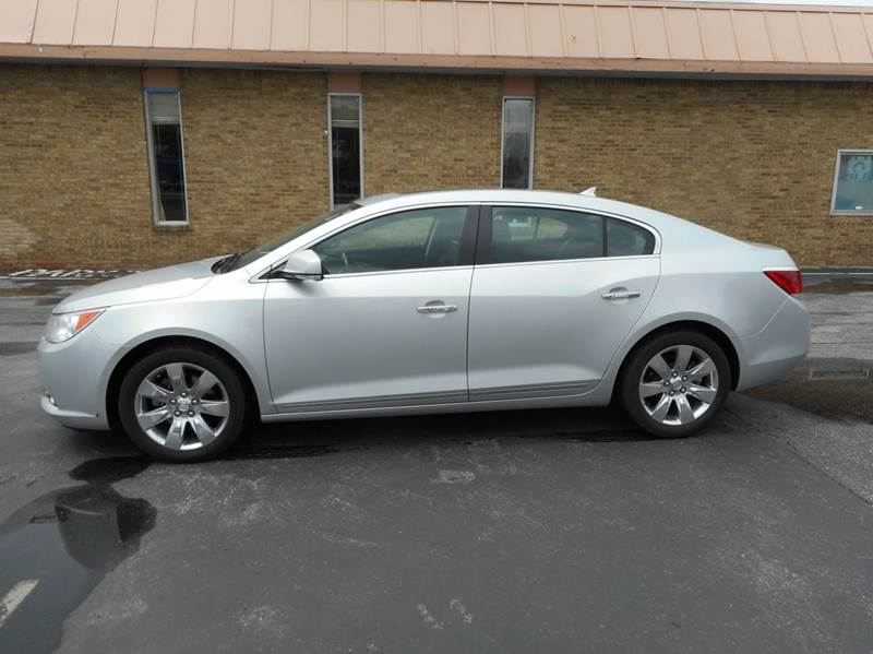 2011 Buick Lacrosse Cxl 4dr Sedan In Indianapolis In Glover Auto Sales