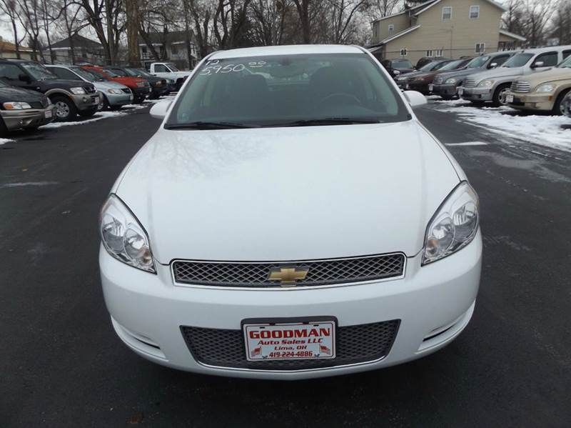 2012 Chevrolet Impala LS Fleet 4dr Sedan - Lima OH