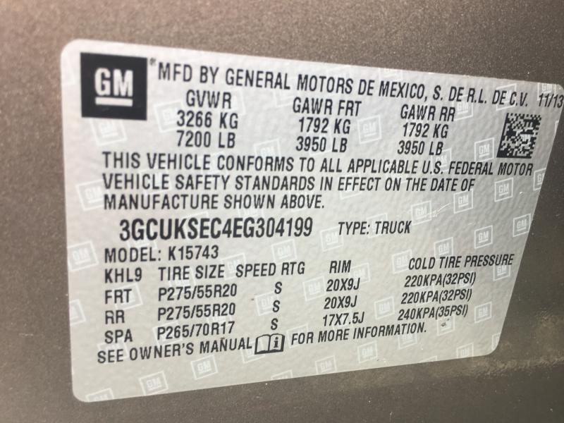 2014 Chevrolet Silverado 1500  LTZ blk leath short - Hillsdale MI