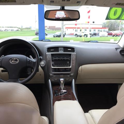 2010 Lexus IS 250 4dr Sedan 6A - Topeka KS