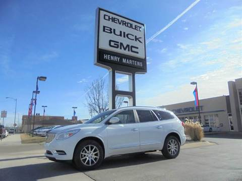 2017 Buick Enclave for sale in Leavenworth, KS