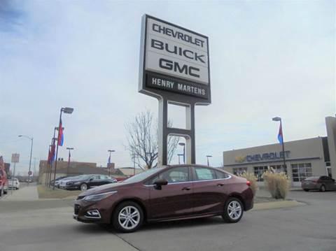 2016 Chevrolet Cruze for sale in Leavenworth, KS