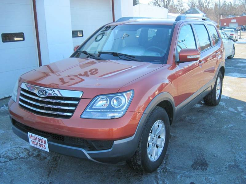 2009 kia borrego 4x4 lx 4dr suv in waupaca wi midtown motors. Black Bedroom Furniture Sets. Home Design Ideas