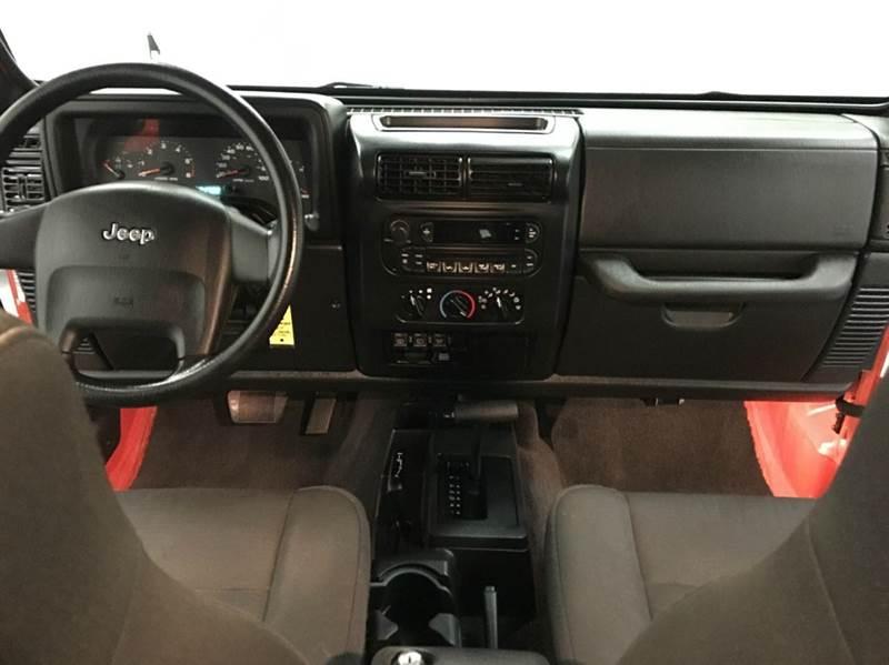 2006 Jeep Wrangler X 2dr SUV 4WD - Grand Rapids MI