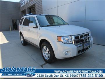 2010 Ford Escape for sale in Ottawa, KS