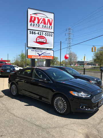 2016 Ford Fusion Detroit Used Car for Sale