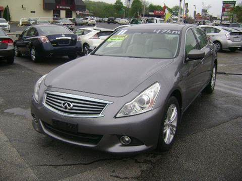 2011 Infiniti G25 for sale in Worcester, MA