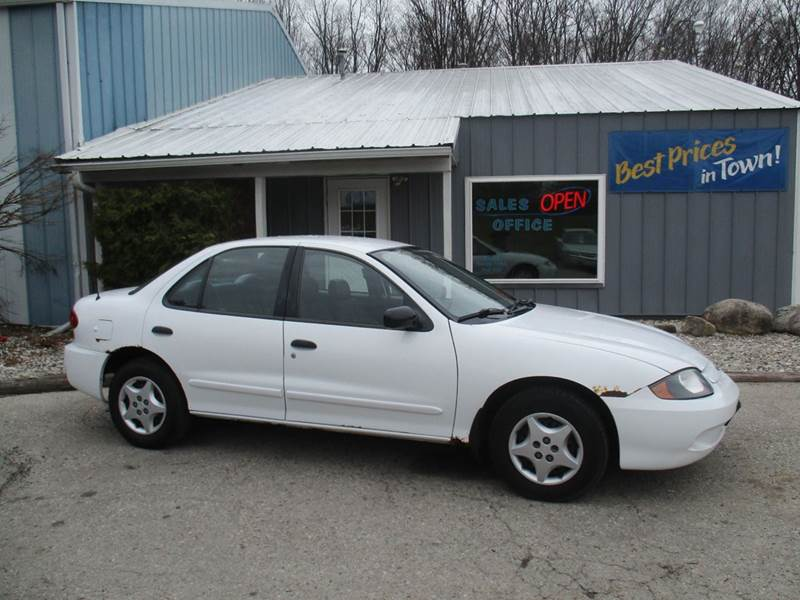 2003 Chevrolet Cavalier Base 4dr Sedan - Traverse City MI