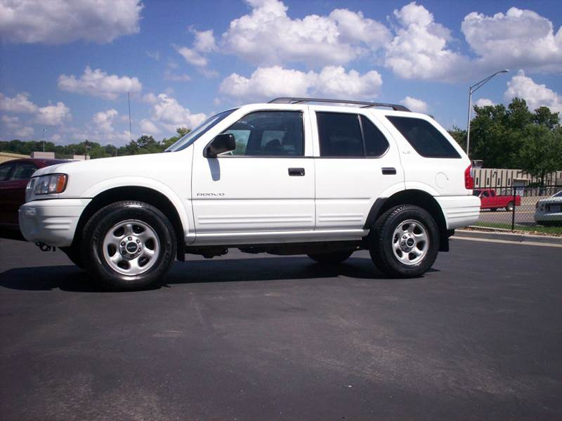 2002 isuzu rodeo ls 4wd 4dr suv in merriam ks whitney. Black Bedroom Furniture Sets. Home Design Ideas