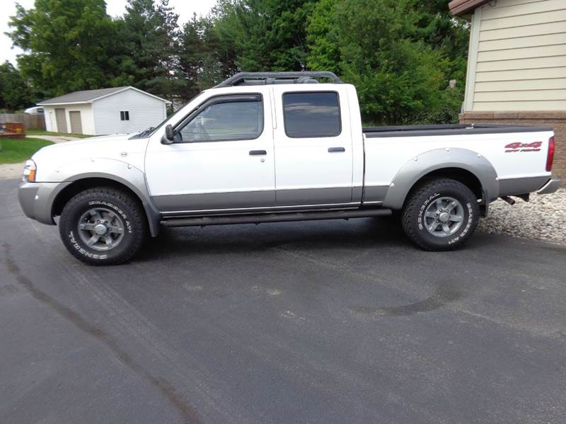 2003 nissan frontier xe v6 4dr crew cab 4wd lb in scottville mi vanderhaag car sales. Black Bedroom Furniture Sets. Home Design Ideas