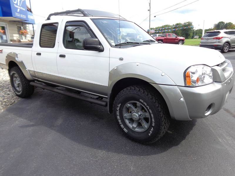 2003 nissan frontier xe v6 4dr crew cab 4wd lb in. Black Bedroom Furniture Sets. Home Design Ideas
