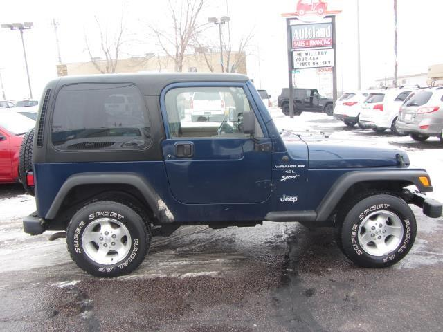 2000 Jeep Wrangler for sale in Sioux Falls SD