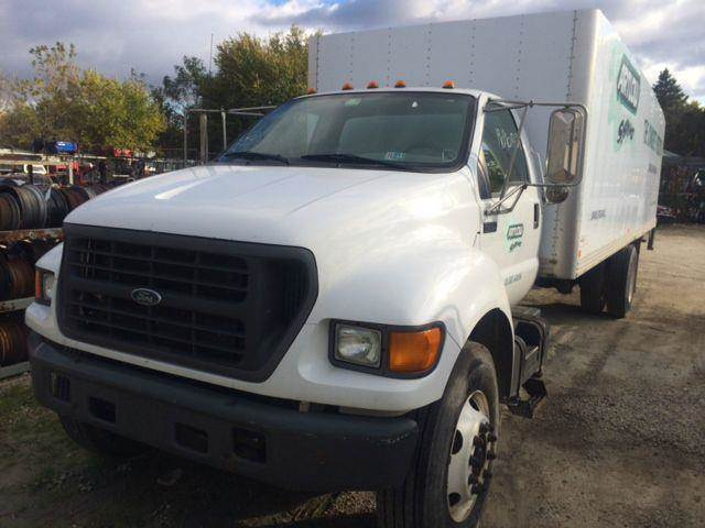 2001 Ford F-750